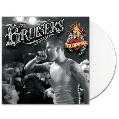 Bruisers Up in Flames LP (White) (Vinyl)