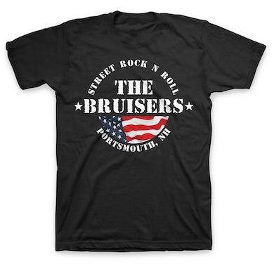 Bruisers Flag T-Shirt (Black)