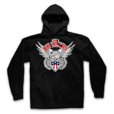 Bruisers Eagle Pullover Sweatshirt (Black)