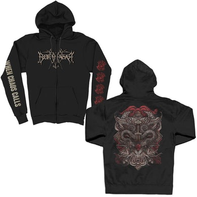 When Chaos Calls Zip Up (Black)