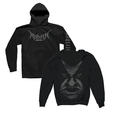 ABBATH Outstrider Close Up Pullover Sweatshirt (Black)