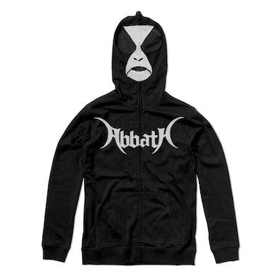ABBATH War Paint Zip Up Sweatshirt (Black)