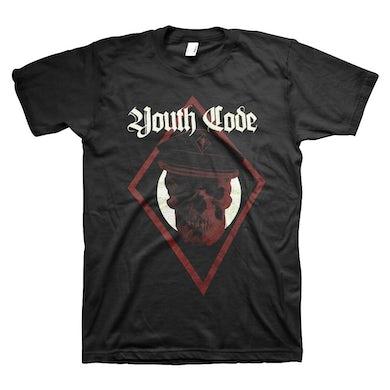 Skull Captain T-Shirt (Black)