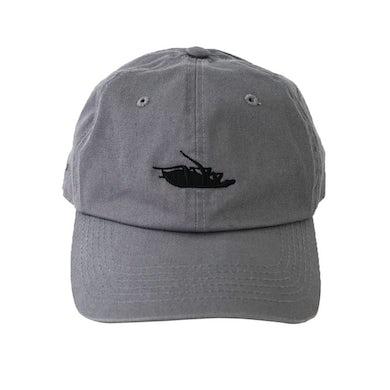 Papa Roach Roach Logo Dad Hat (Gray)