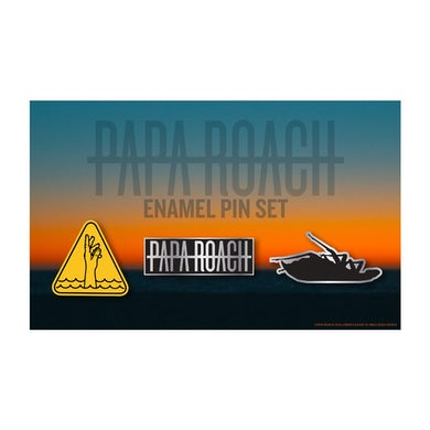 Papa Roach Who Do You Trust? Enamel Pin Set