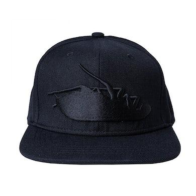 Papa Roach Blackout Roach Snapback Hat (Black)