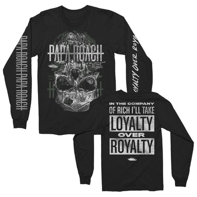 Papa Roach Skull Loyalty Long Sleeve (Black)