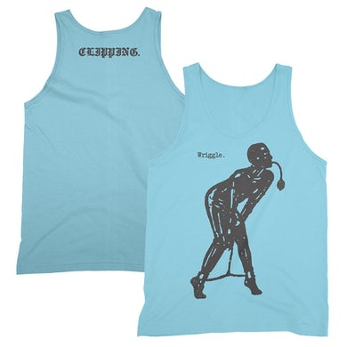 Clipping Wriggle Tank Top (Baby Blue)