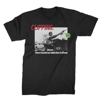 Clipping La Mala T-Shirt (Black)