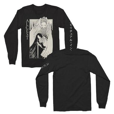 Alcest Knight Long Sleeve T-Shirt (Black)