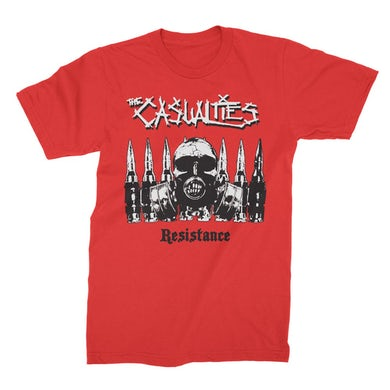 The Casualties Resistance Tee (Red)