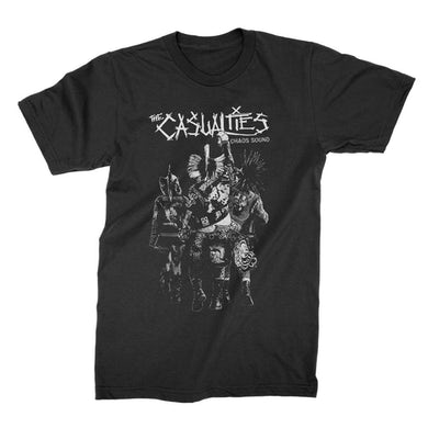 The Casualties Chaos Sound Tee (Black)
