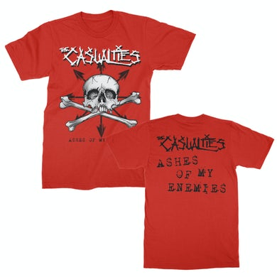 The Casualties Ashes of My Enemies Tee (Red)
