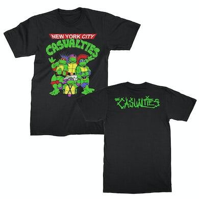 The Casualties Turtles Tee (Black)