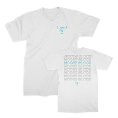 Moose Blood Repeater Tee (White)