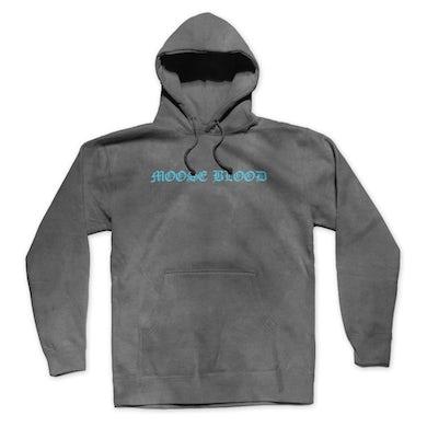 Acid Wash OE Logo Pullover Hoodie (Grey)