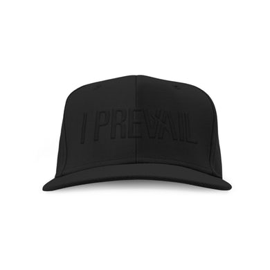 I Prevail Logo Snapback Hat (Black/Black)