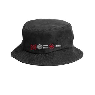 I Prevail Trauma Symbols Bucket Hat (Black)