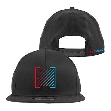 I Prevail Post Traumatic Logo Snapback Hat (Black)