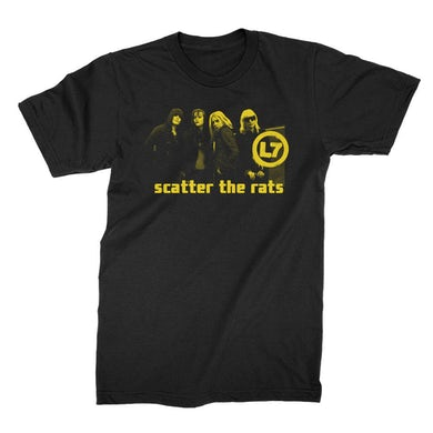 L7 Scatter the Rats Photo Tee (Black)