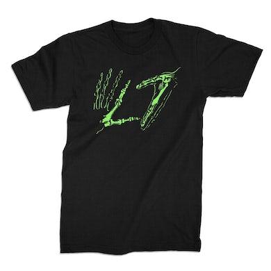 L7 Green Hands Tee (Black)