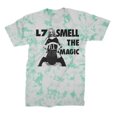 L7 Smell The Magic Limited Crystal Dye Tee (White/Min