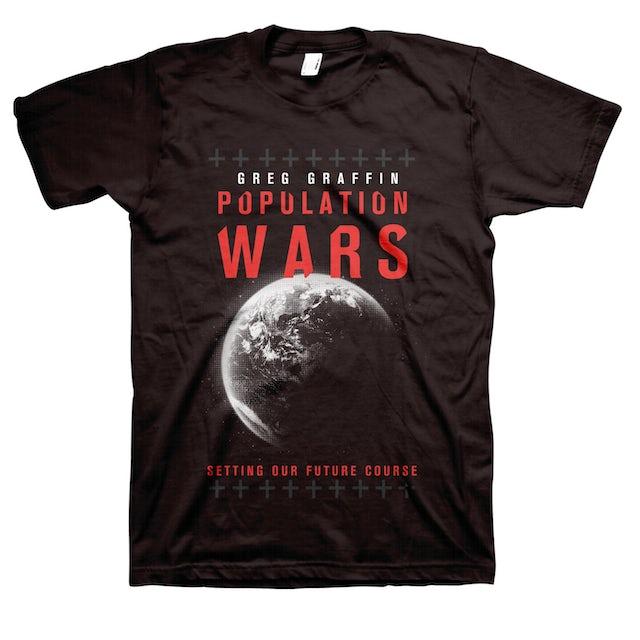 Greg Graffin Population Wars T-Shirt (Black)