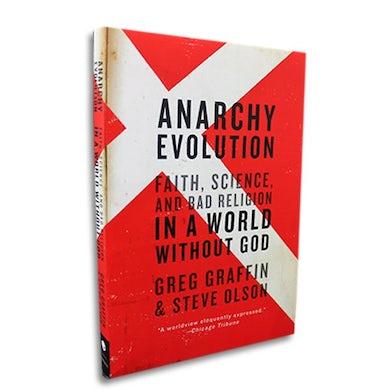 Greg Graffin Anarchy Evolution Book (Paperback)