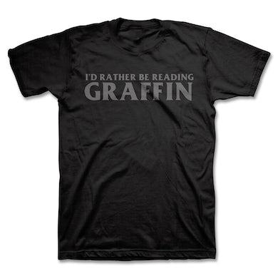 Greg Graffin I'd Rather Be Reading T-Shirt (Black)