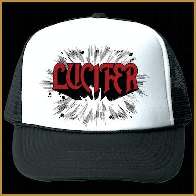 LUCIFER Rush Trucker Hat (Wht/Blk)
