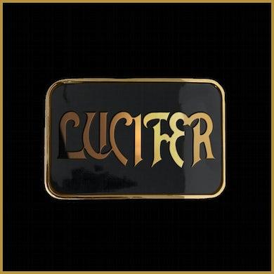 LUCIFER Logo Belt Buckle