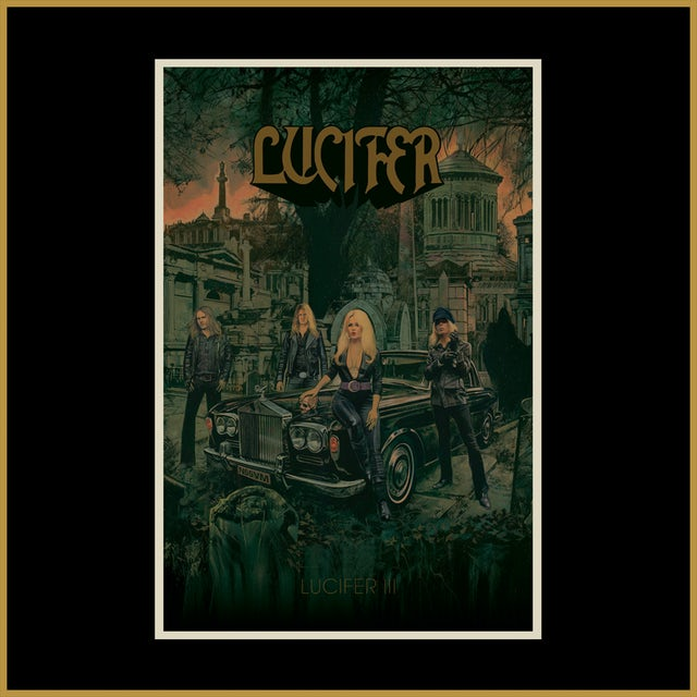 LUCIFER III Album Poster