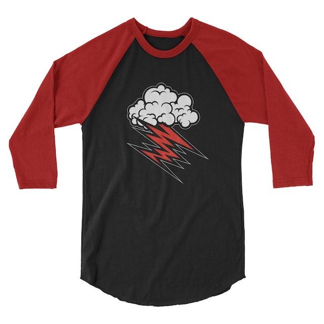 Hellacopters Cloud Raglan (Black/Red)