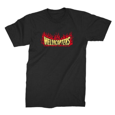 Hellacopters Flame T-Shirt (Black)