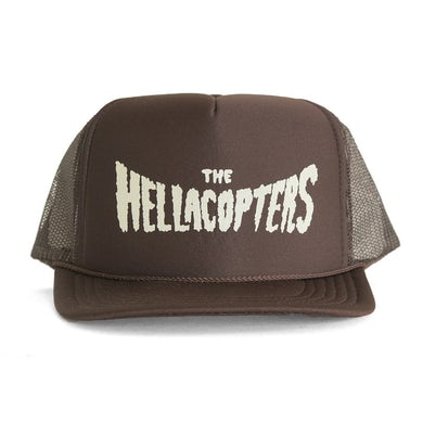 Hellacopters Logo Trucker (Brown)