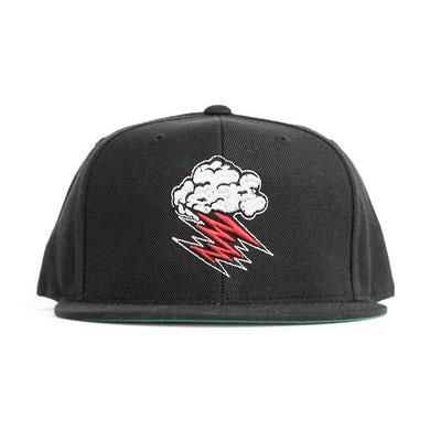 Hellacopters Cloud Logo Embroidered Snap Back (Black)