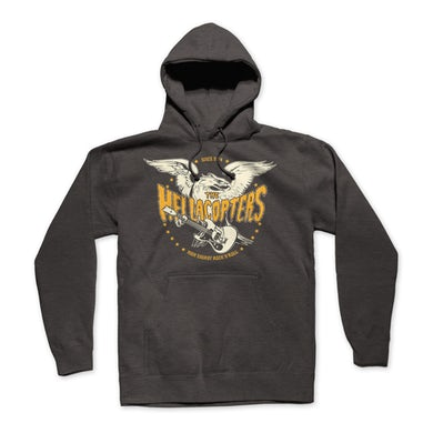 Hellacopters Eagle Pullover Hoodie (Pepper)