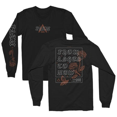 From Ashes to New Always The Same Long Sleeve Tee (Black)