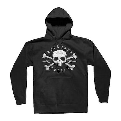 Backyard Babies Skull Pullover Hoodie (Black)