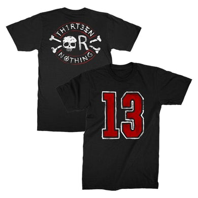 Backyard Babies 13 Nothing Tee (Black)
