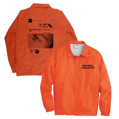 The Drums Abysmal Thoughts Windbreaker (Orange)