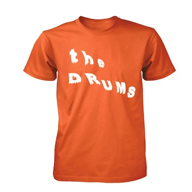 The Drums Abysmal Thoughts Logo Tee (Orange)