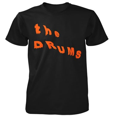 The Drums Abysmal Thoughts Logo Tee (Black)
