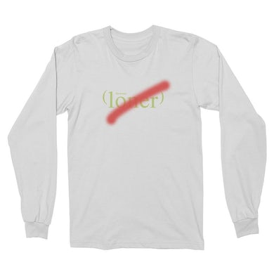 The Drums Loner Long Sleeve (White)