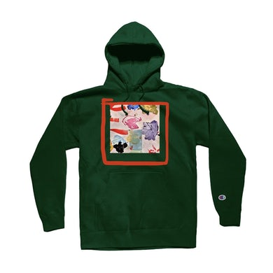 The Drums Take Yer Meds Pullover Hoodie (Green)