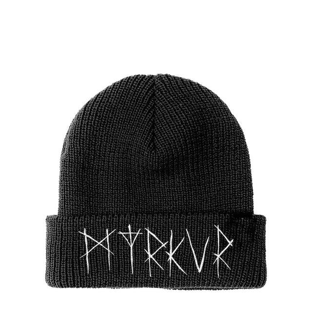 Myrkur Embroidered Logo Beanie (Black)