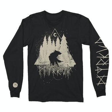 Myrkur Wolf Forrest Long Sleeve (Black)