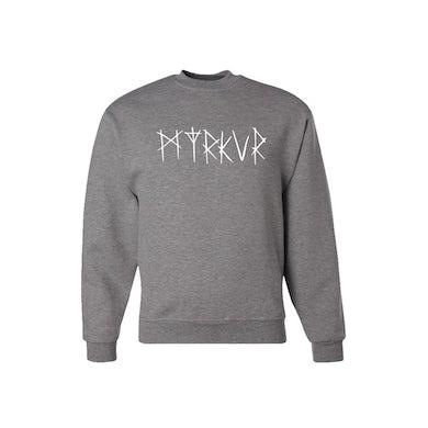 Myrkur Logo Sweatshirt (Oxford Grey)