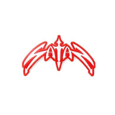 Satan Classic Logo Die Cut Patch
