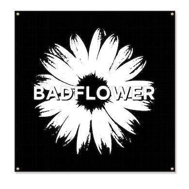 "Badflower Daisy Flag (48"" x48"")"